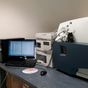 Waters LCT Premier with Agilent 1100